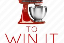 Win Something / Giveaways / by Jaime @ Mom's Test Kitchen