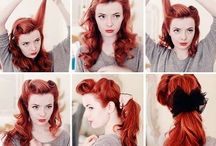 I <3 PINUP / My inner Bettie Page Rawr.....Poses, Styles, Fashion, Mua, Hair <3 / by Lana Marie