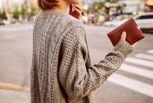 Fall/Winter Fashion / Cozy clothes / by Anna Coffeen Long