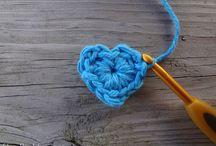 Corazones de crochet / by Alfalfa Accesorios