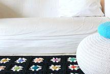 Rug - Tapis - Crochet / by Laetitia Colori