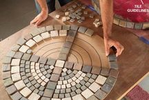 Mosaics & tile art / by Jana Reando