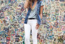 Obsession # 1: white pants / by Nataliya Soloveva