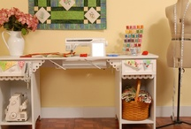 Sewing spaces / by Warehouse Fabrics Inc.