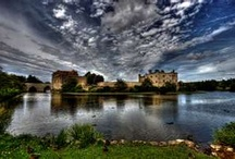 Leeds Castle / Torindan, High Hold in DawnSinger, book one of Tales of Faeraven, is based largely on Leeds Castle. A noted castle historian proclaimed Leeds Castle to be the fairest in the world. / by Janalyn Voigt -- Creative Worlds of Fiction