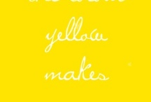 Yellow / by Studio Stationery