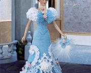Poppe - Barbie - Klere - Hekel & Brei / by Rita Venter
