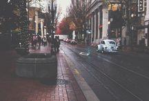 N E X T  S T O P / Portland & Troutdale Oregon  / by Marie Fanjoy