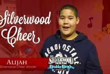 Silverwood Cheer / At Silverwood, we are always looking for ways to give back to the community. This year, we wanted to give tickets to families that have had a rough year and deserve a day to relax at the park this upcoming summer. To enter, people wrote in essays about why they or someone else deserved to win these tickets for the holidays and sent it off to us to read. With over 100 entries, we selected 5 and surprised the families that lived within the Coeur d'Alene and Spokane region. / by Silverwood Theme Park