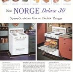 Norge Appliances / Magazine Advertisements featuring Norge Appliances! Enjoy these vintage ads! And remember to visit www.magazine-advertisements.com to view, download, or print the Full-Size image! / by Advertisement Gallery