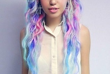 Colored Hair!<3 / It's about Colored Hair!<3 / by Kelli Stewart