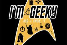 I'm Geeky And I Know It / by Helena Ramirez-Watson