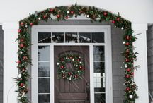 Outdoor Christmas decor  / by Sarah Montemayor