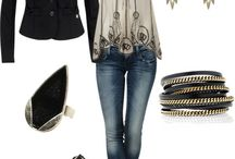 Awesome outfits / by Marcie Neztsosie