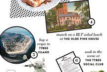 Savannah GA: What Gals Talk Guys Into / Fun and romantic things to do in Savannah Georgia USA / by Green Palm Inn, Diane McCray
