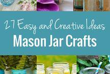 Mason Jar Round-Ups / by Mason Jar Crafts {love!}