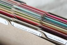 Organize / by Karen Benham