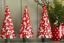 Christmas decor to make / by Venessa Myers
