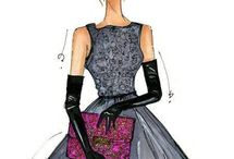 Fashion Artwork / by Oz Dust Designs and the Green Girl Studio