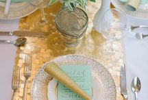 { pretty table settings } / by Kristy