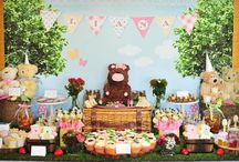Teddy Bear Birthday Party! / Ideas for an adorable, sweet and snuggly teddy bear themed birthday party! / by Sweet City Candy