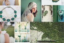 Emerald Green Wedding / by Bellus Designs