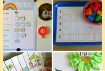Toddler activities  / by Jaci Andrews