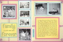 My Old Paper Layouts / I'm so sad to see Two Peas in a Bucket closing! I put a lot of layouts in their gallery when I first started scrapping. I'm hoping that pinning them will allow me to keep them. / by Sharon Suske