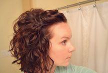 Curly hair :) :( / by Stephanie Nipper
