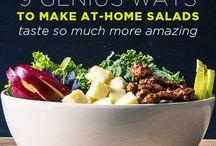 Lettuce + stuff= salad / by Dana Smith
