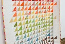 Quilts - Triangles / by Tammy Vonderschmitt