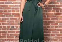 Plus Size Evening Dresses / For many years if a woman wanted plus size evening dresses for formal occasions or festive gatherings, she had to have one that was created by a private seamstress. Now that is no longer the case, fabulous designers are now creating top of the line designs for plus size evening dresses. There is a perfect dress to fit any body shape, size, or plush curves. / by Luck Bridal
