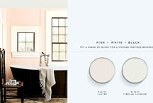 Classic Color Palettes / Classic color and paint palettes for a traditional-chic look for the home. / by Domaine