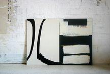 Collage/Art - Black, White & Gray / by Liz Zimbelman