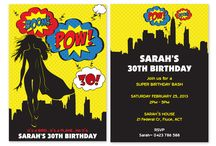 Super Hero Party! / by Pink Frosting