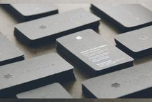 design: business cards / by Mika Hillery