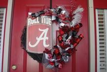 Alabama Crimson Tide / by Angie Cranford
