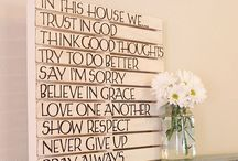 Home decor  / by Taelor Cheffer