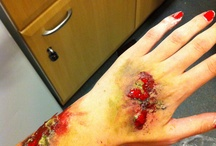 Halloween (FX makeup) / by amystrawn