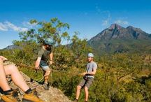MBL Adventure Activities / Mt Barney Lodge has a huge variety of outdoor activities on offer / by Mt Barney Lodge
