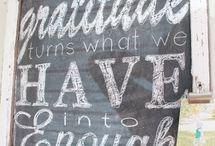 Chalkboard Ideas / by Wendy Jewell