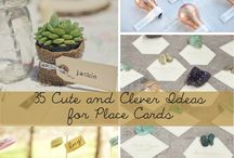 Place Cards / by Cherry Valley Country Club