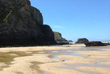 Mawgan Porth Beach,  Cornwall  / One of the most stunning beaches in Cornwall  / by Cove House, Mawgan Porth, Cornwall