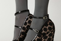 SHOES!!!!! / My ever growing obsession with all things footwear! / by Crickett Gudde Welch