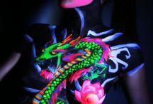 UV Body Paint / by Love Body Art .