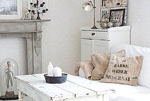 white / wonderful white spaces & places of inspiration / by Gina @ Shabby Creek Cottage