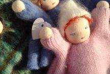 Waldorf Dolls / by A Child's Dream