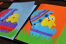 πασχαλινες καρτες / by Fay Trigoni