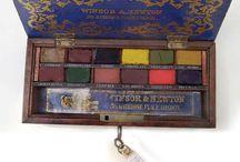 Art vintage supplies / by Darlene Crouthamel