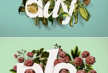 Typography / by Cynthia Coffield